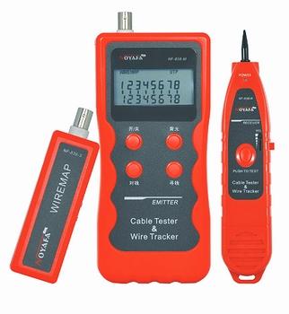 TE-NF838 Mrežni kabel tester + tražilac parica s displayem