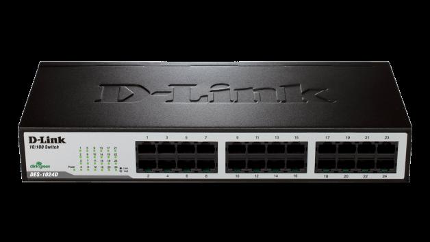 DES-1024D D-Link desktop switch 24x10/100