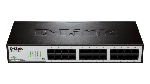 DES-1024D D-Link desktop switch 24x10/100